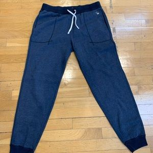 Abercrombie and Fitch Navy Blue Jogger Sweatpants